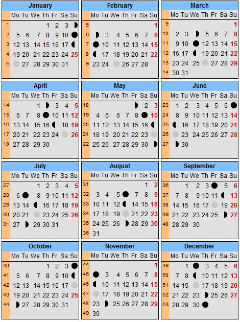 лунный календарь 27 ноября 1980 также варианты