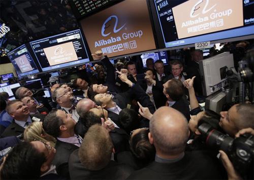 Alibaba - stock market - price - NYSE
