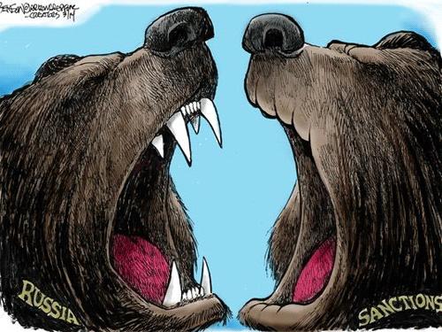 Антироссийские санкции ЕС и США.