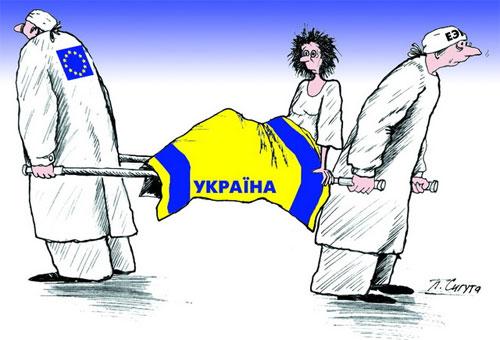 Россиия - Украина - Евросоюз - Донбасс