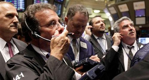 Паника на бирже.