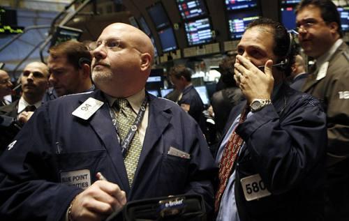 Крах биржевого рынка.