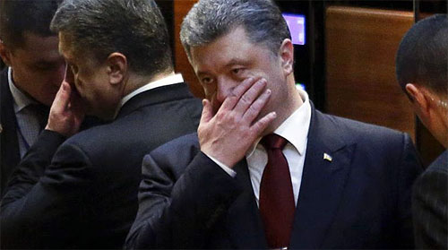 Ukrainian President Petro<br /> Poroshenko. Photo: Reuters