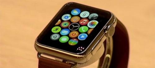 Золотые часы Apple.