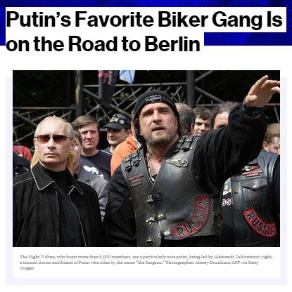Russian Bikers Berlin