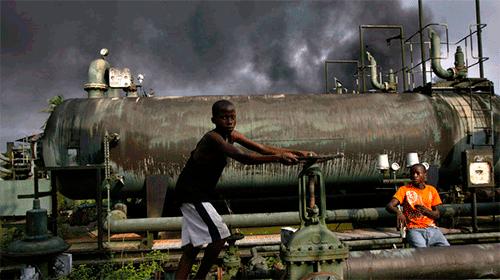 Нефть Нигерии.
