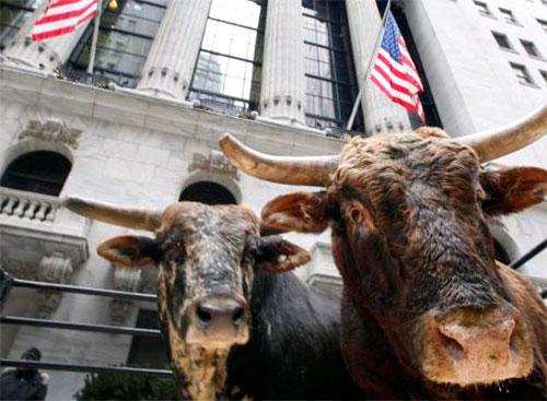 Быки ушли на Wall Street.