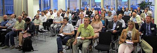 Участники семинара на Московской бирже