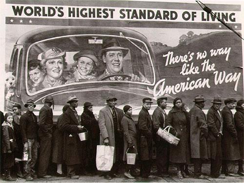 Высокие стандарты жизни .... В прошлом.