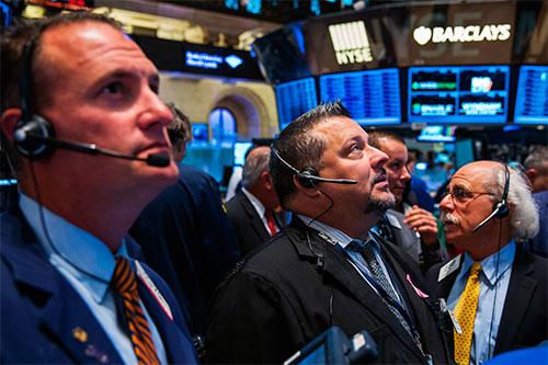 Рост на бирже.