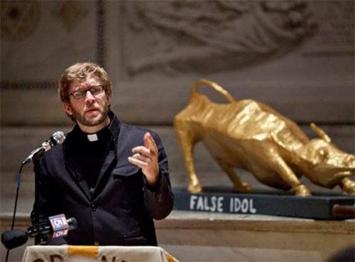 Деньги - Фальшивый идол. Годовщина майской акции Occupy Wall Street.