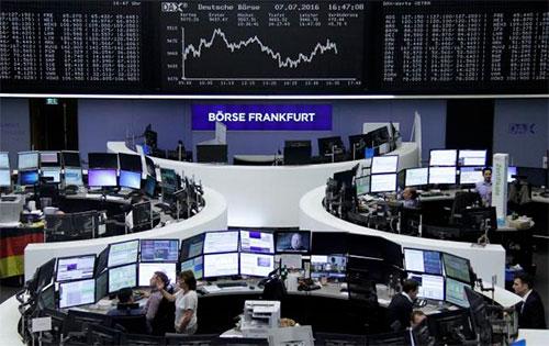 Фондовая биржа во Франкфурте