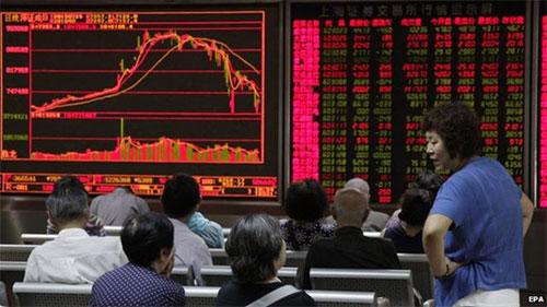 Паника на бирже в Китае