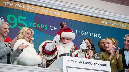 Дед Мороз на фондовой бирже