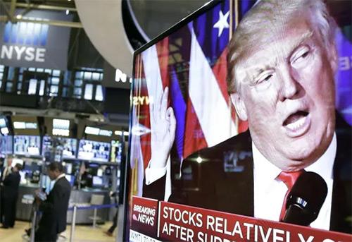 Трамп и игра на бирже