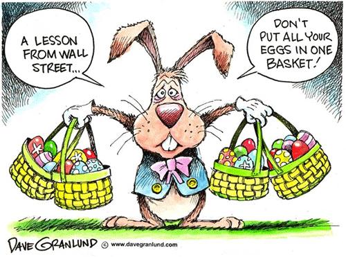 Совет инвестору: Не ложите все свои яйца в одну корзину.