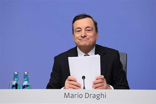 Маро Драги, председатель ЕЦБ. Рынку нужны стимулы.