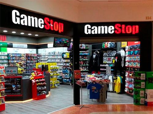 GameStop corner