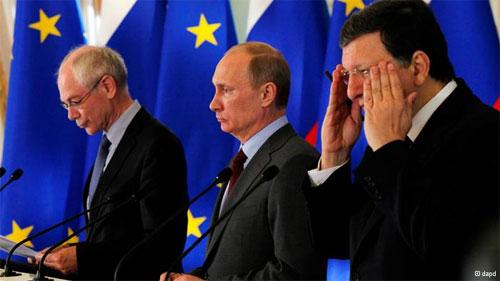 На саммите ЕС - Россия, президента России Владимира Путина оставили без ужина.