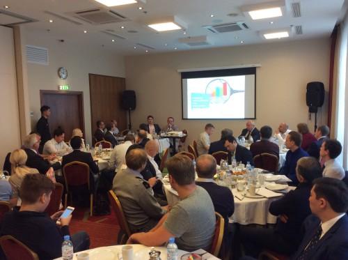 Встреча руководителей АО Открытие брокер с клиентами.